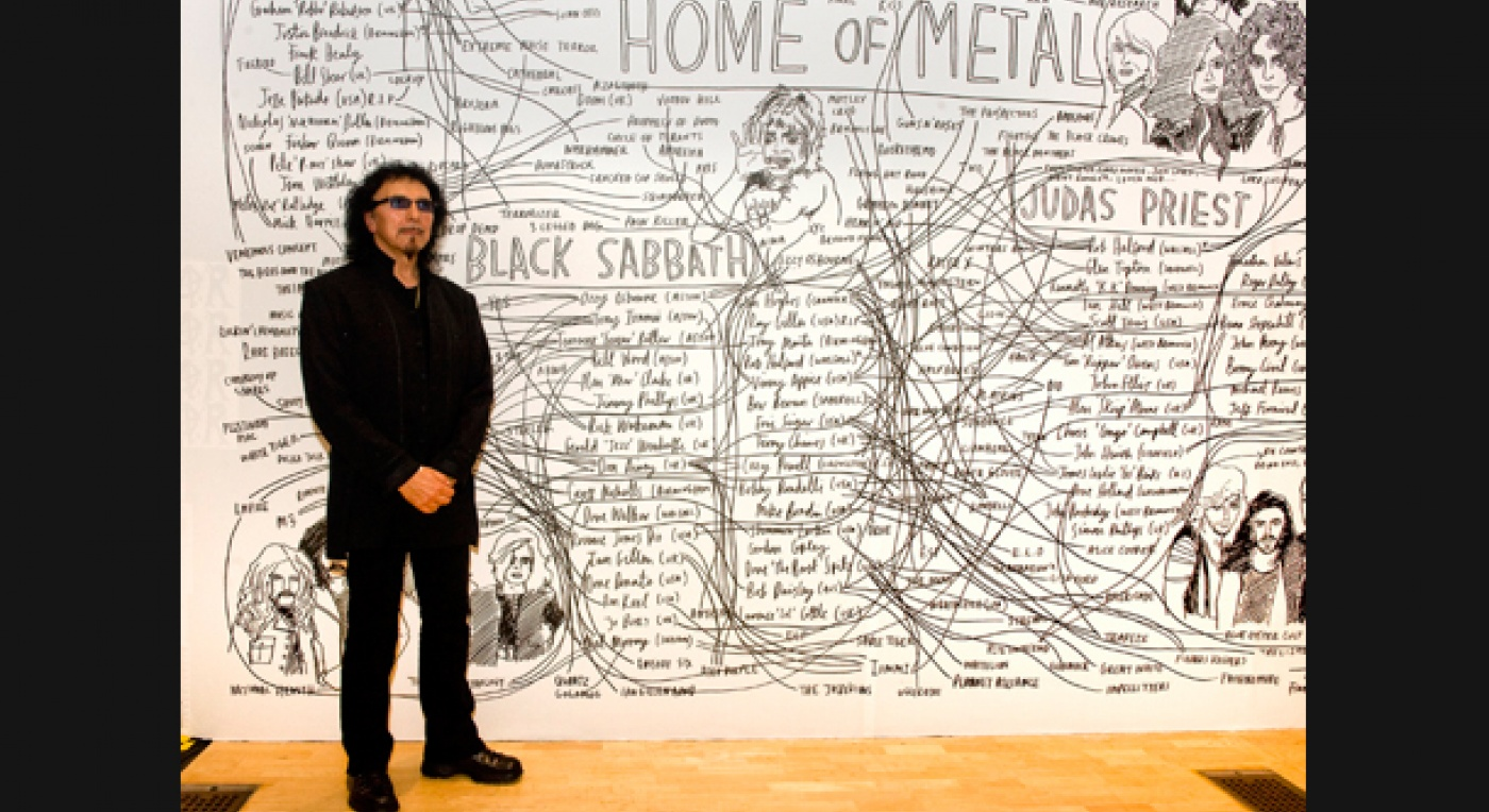 Tony Iommi from Black Sabbath - Home of Metal by Capsule