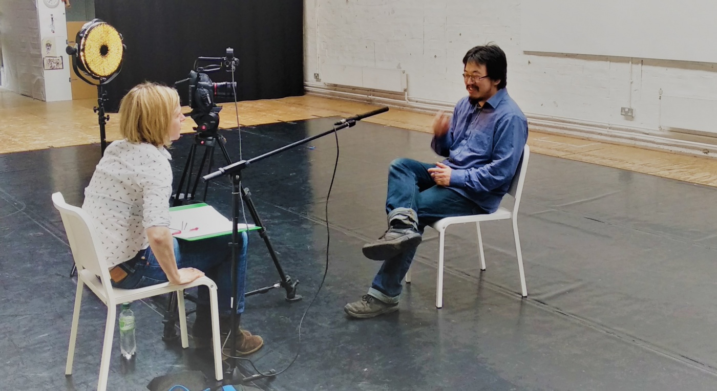 In Motion, You'll Never Walk Alone by Bridie Gane -  Katrina McPherson Interviewing Lucas Kao