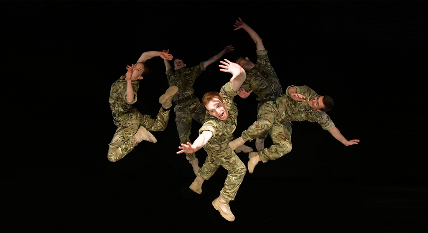 5 SOLDIERS live stream - Rosie Kay Dance Company - Image Brian Slater