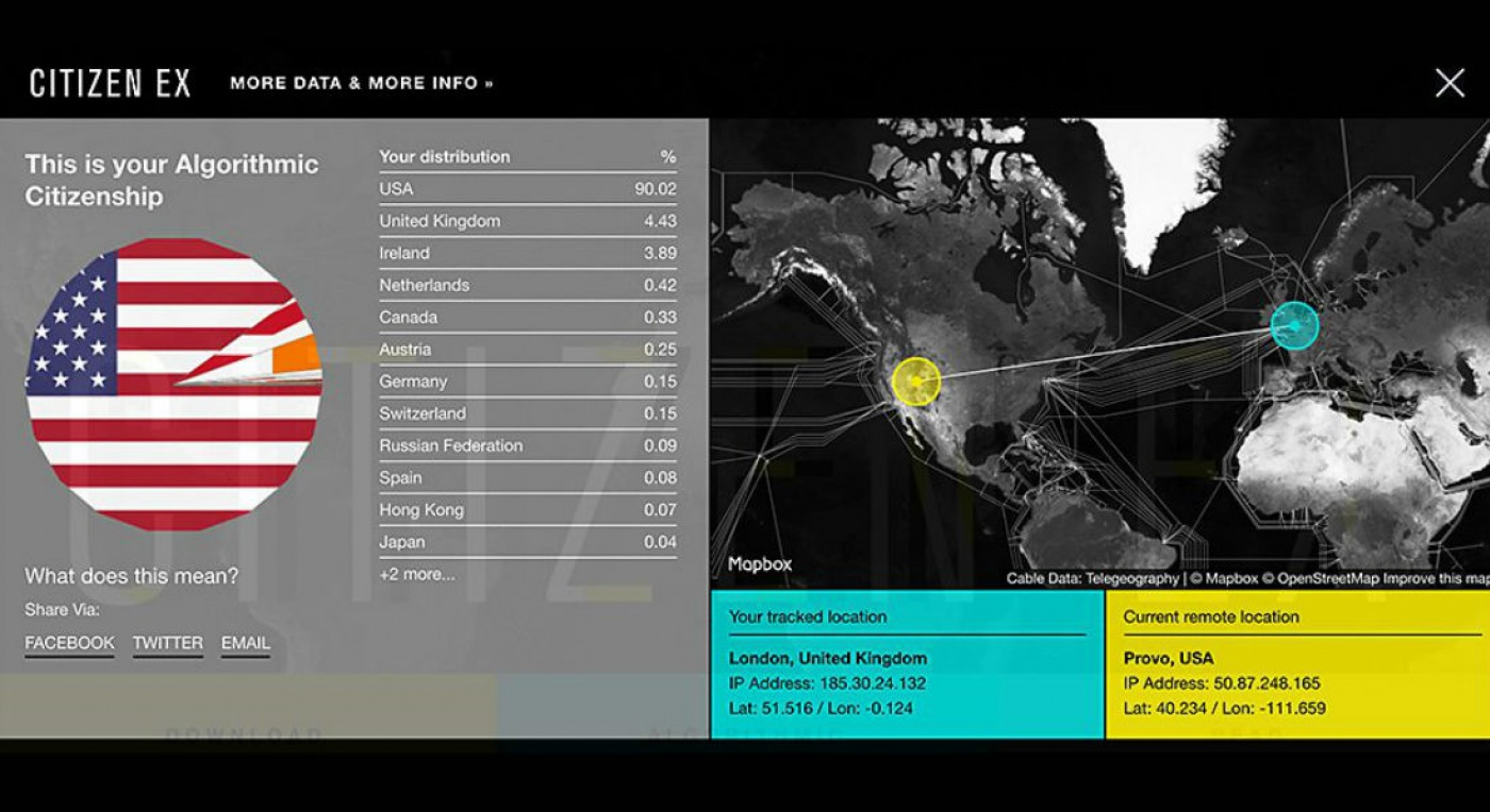 Citizen Ex screenshot from website