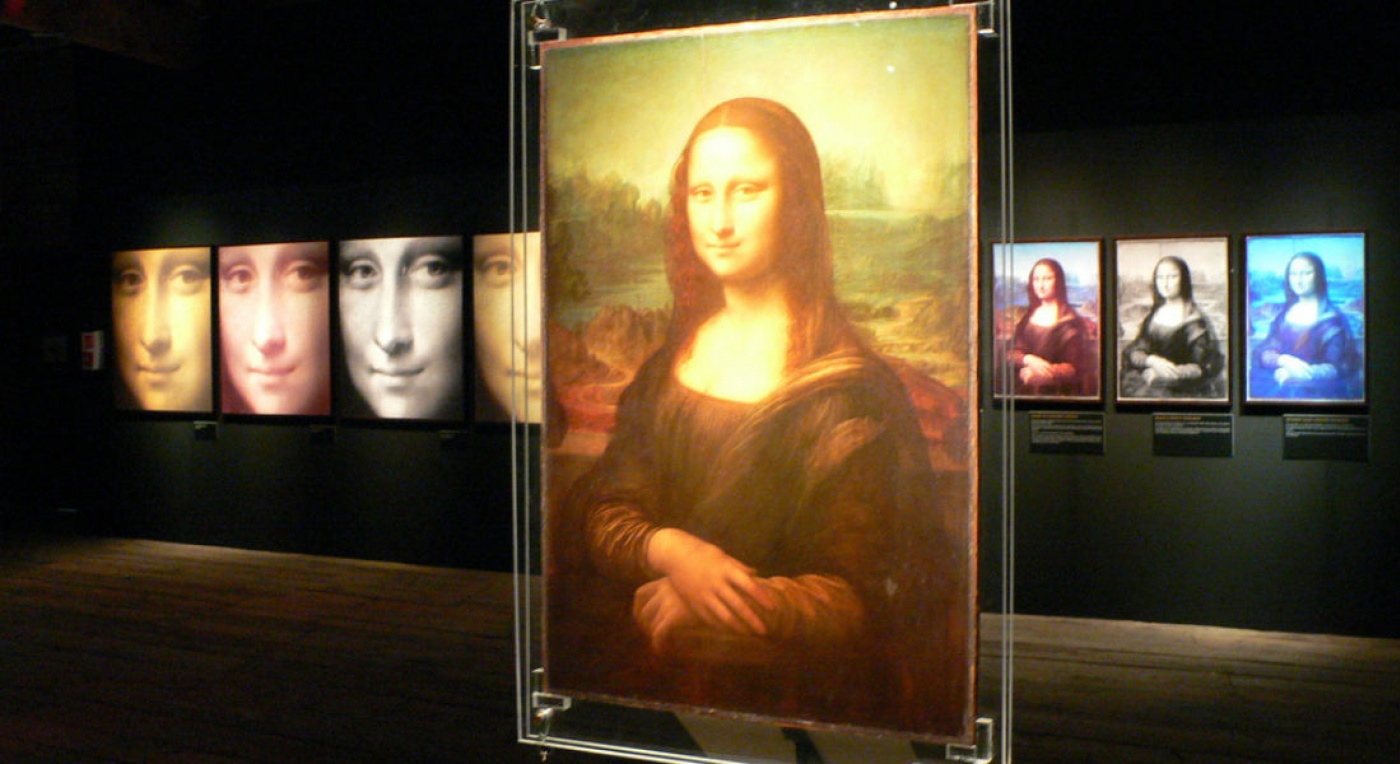 Digital image of Mona Lisa