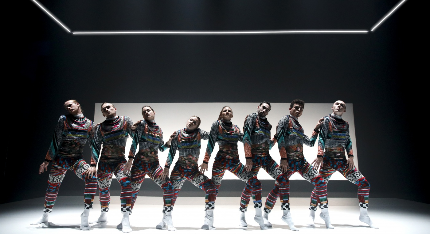 National Dance Company Wales TUNDRA photo: Rhys Cozens