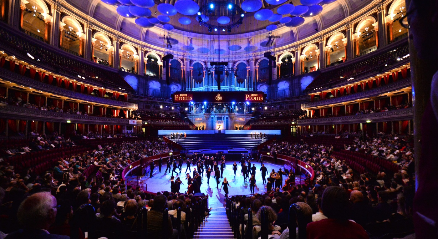 Benedict Mason's 'Meld' at the Royal Albert Hall as part of the BBC Proms 2014