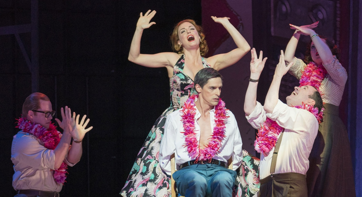 Leonard Bernstein's Trouble in Tahiti, Opera North, photo Alastair Muir