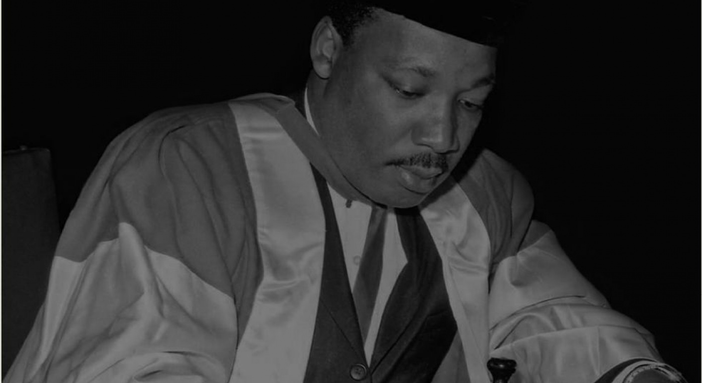 The Mighty Stream features poems in celebration of Martin Luther King