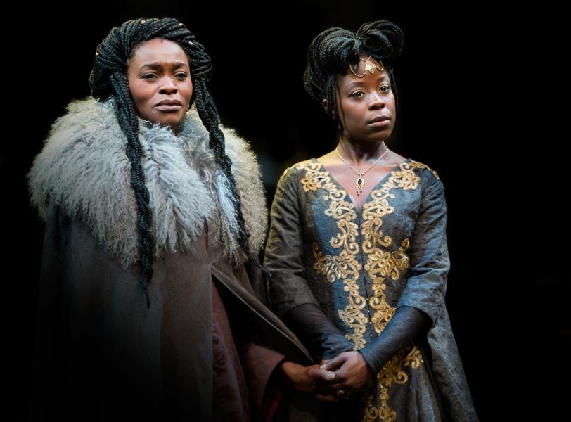 Rakie Ayola and Debbie Korley in King Lear