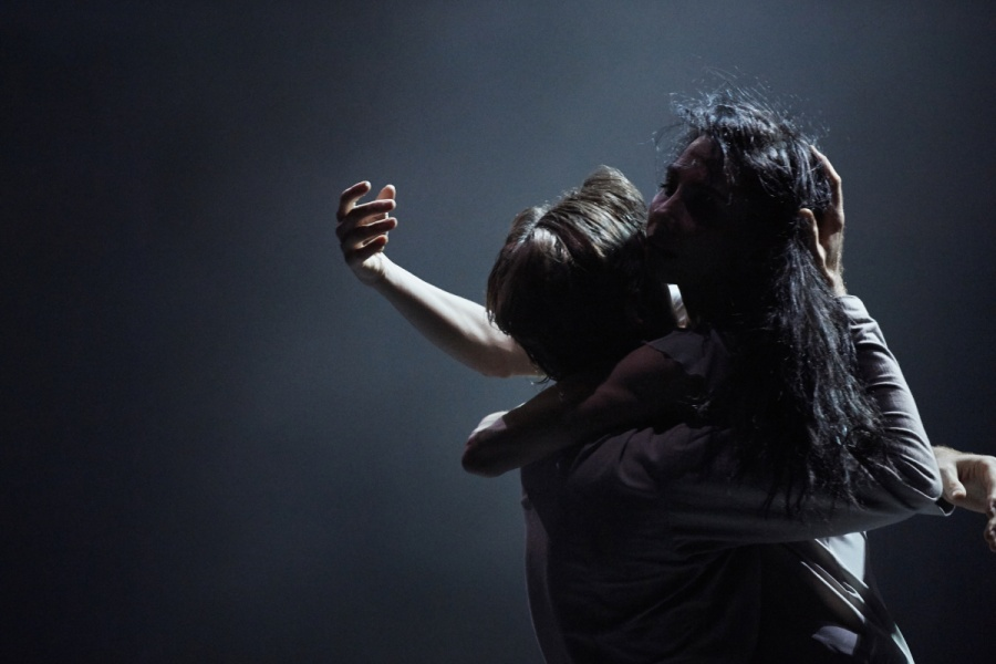 Tamara Rojo and James Streeter in Akram Khan's Giselle pic: Laurent Liotardo