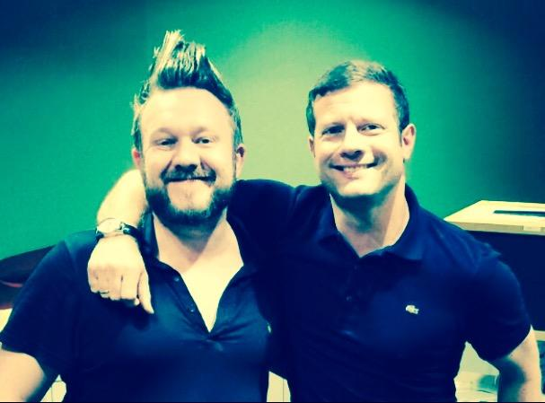 Thomas Small and Dermot O'Leary